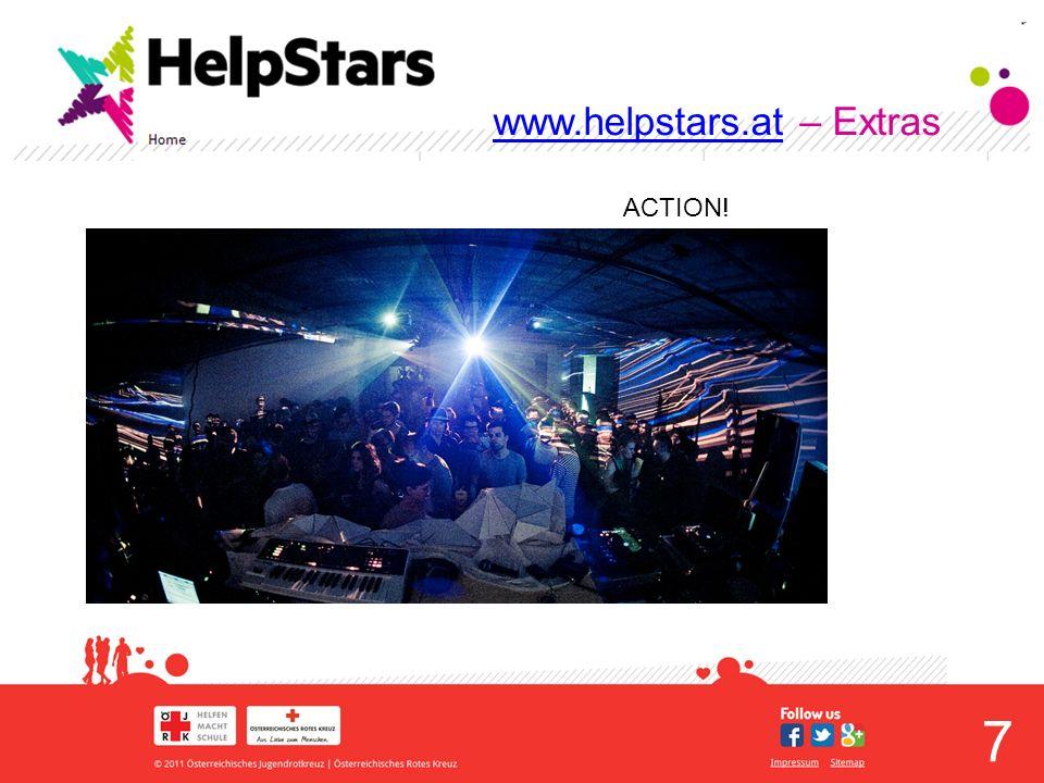 8 www.helpstars.atwww.helpstars.at – Extras MITMACHEN.