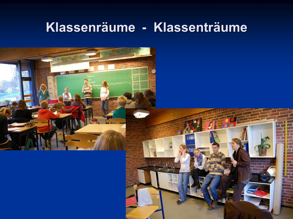 Klassenräume - Klassenträume