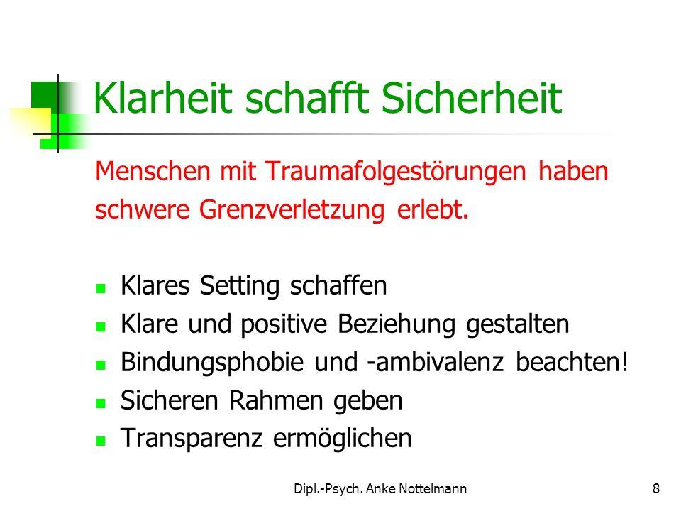 Dipl.-Psych. Anke Nottelmann9 www.kl-arbeitssicherheit.de