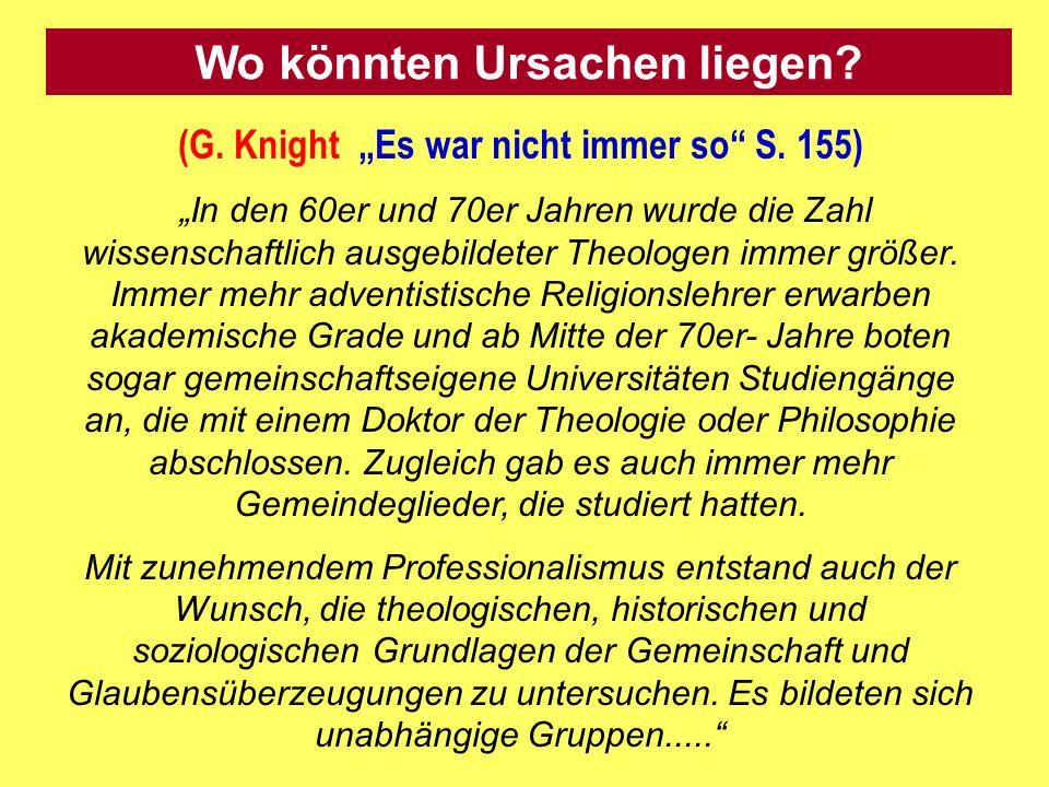 (G.Knight Es war nicht immer so S.