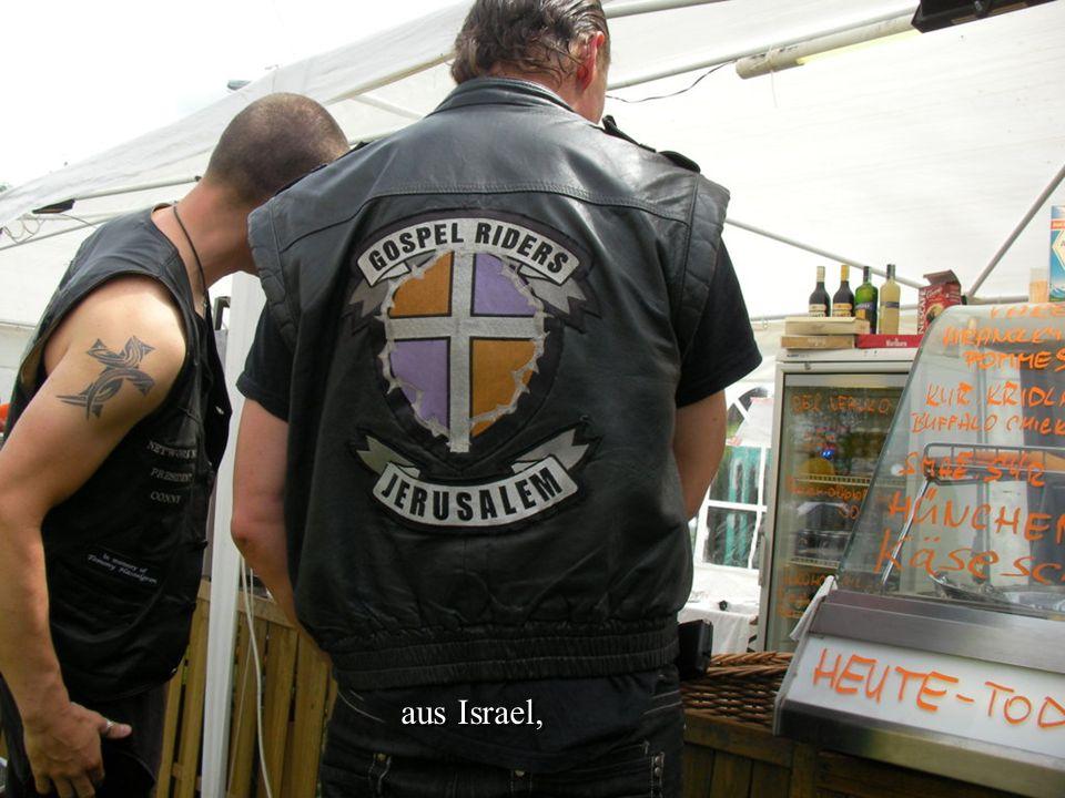 aus Israel,
