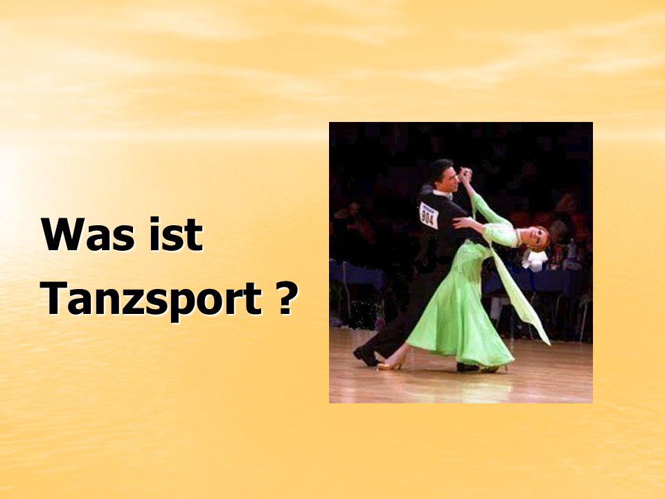 Was ist Tanzsport ?
