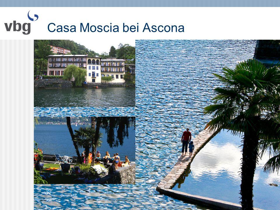 Casa Moscia bei Ascona