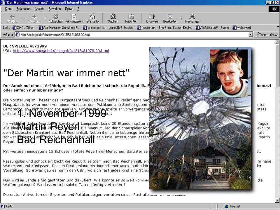 55 1. November 1999 Martin Peyerl Bad Reichenhall