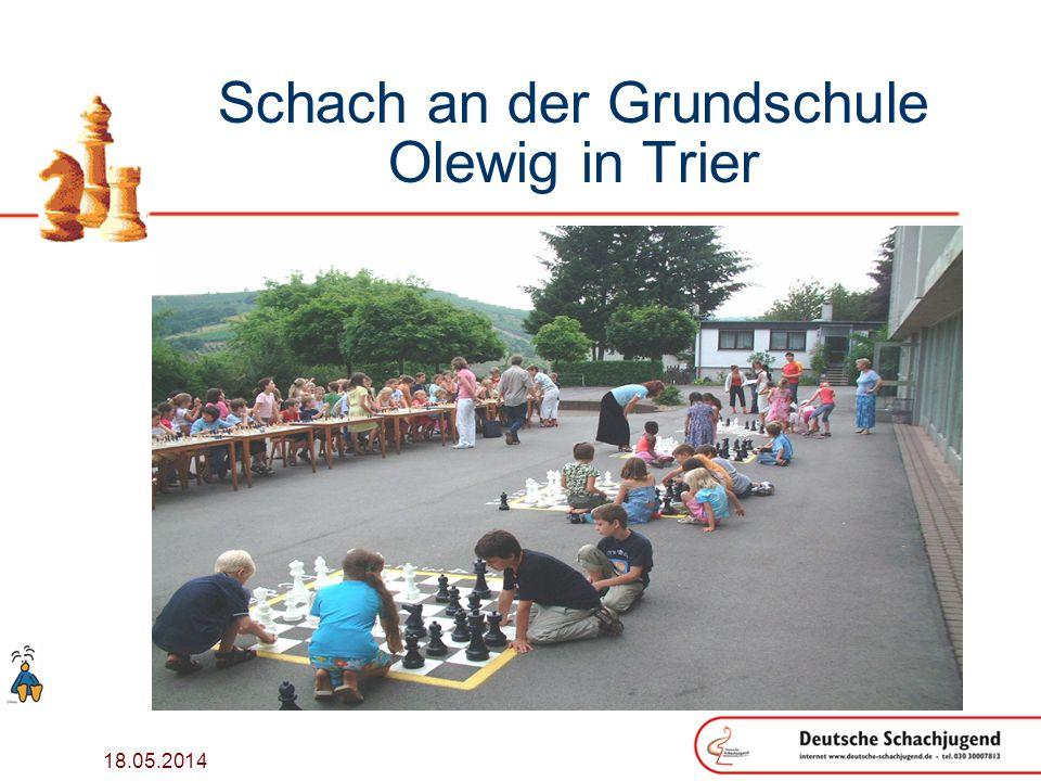 18.05.2014 Schach an der Grundschule Olewig in Trier