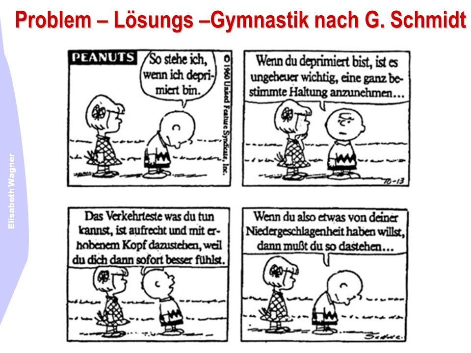 Elisabeth Wagner Problem – Lösungs –Gymnastik nach G. Schmidt