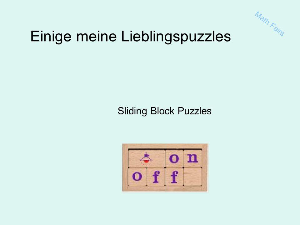 Math Fairs Einige meine Lieblingspuzzles Sliding Block Puzzles