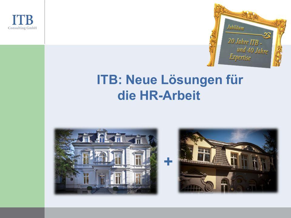 ITB: Neue Lösungen für die HR-Arbeit +
