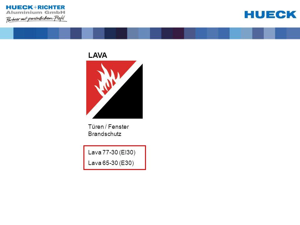 Türen / Fenster Brandschutz LAVA Lava 77-30 (EI30) Lava 65-30 (E30)