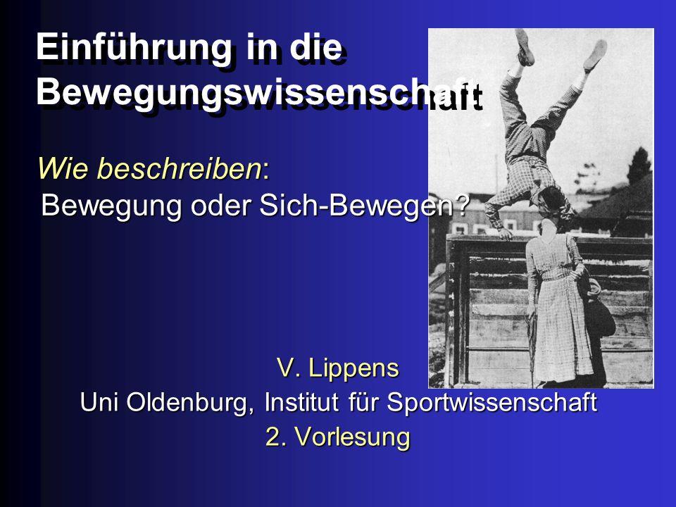 WS 02/03Universität Oldenburg - Institut für Sportwissenschaft23 KAMINSKI 1972, 1973: Wie funktioniert Skilaufen(-Lernen).