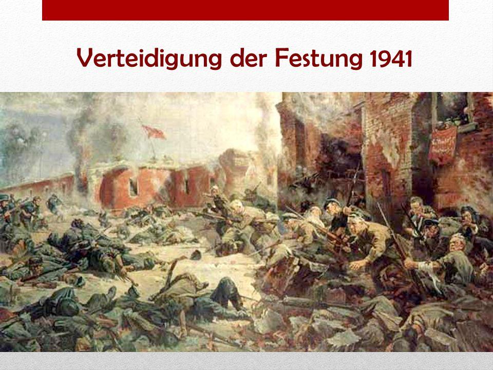 Verteidigung der Festung 1941