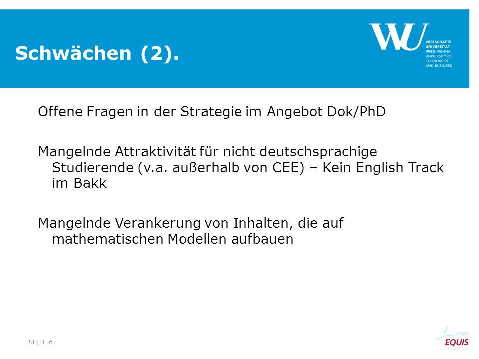 Schwächen (2).