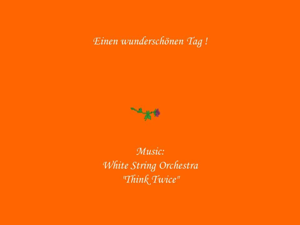Einen wunderschönen Tag ! Music: White String Orchestra Think Twice