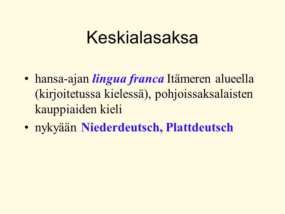 Sivulauseen rakenne finiittiverbi yleensä lopussa (konjunktio-, relatiivi-, epäsuorat kysymyslauseet) poikkeuksia: - Ausklammerung - päälauseen muotoiset sivulauseet - verbialkuiset sivulauseet