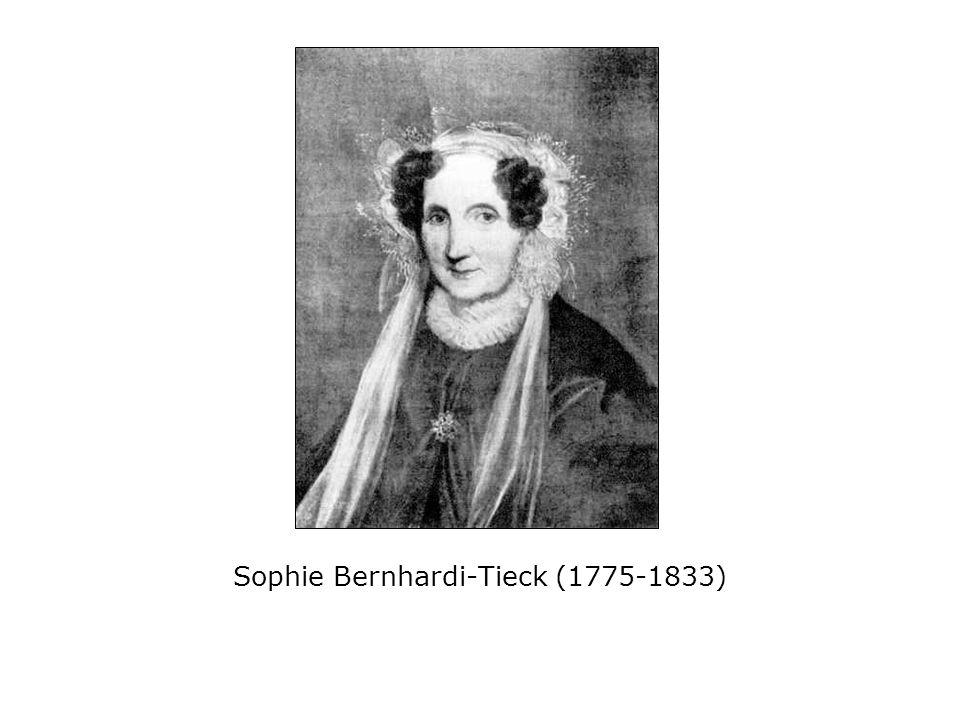Sophie Bernhardi-Tieck (1775-1833)