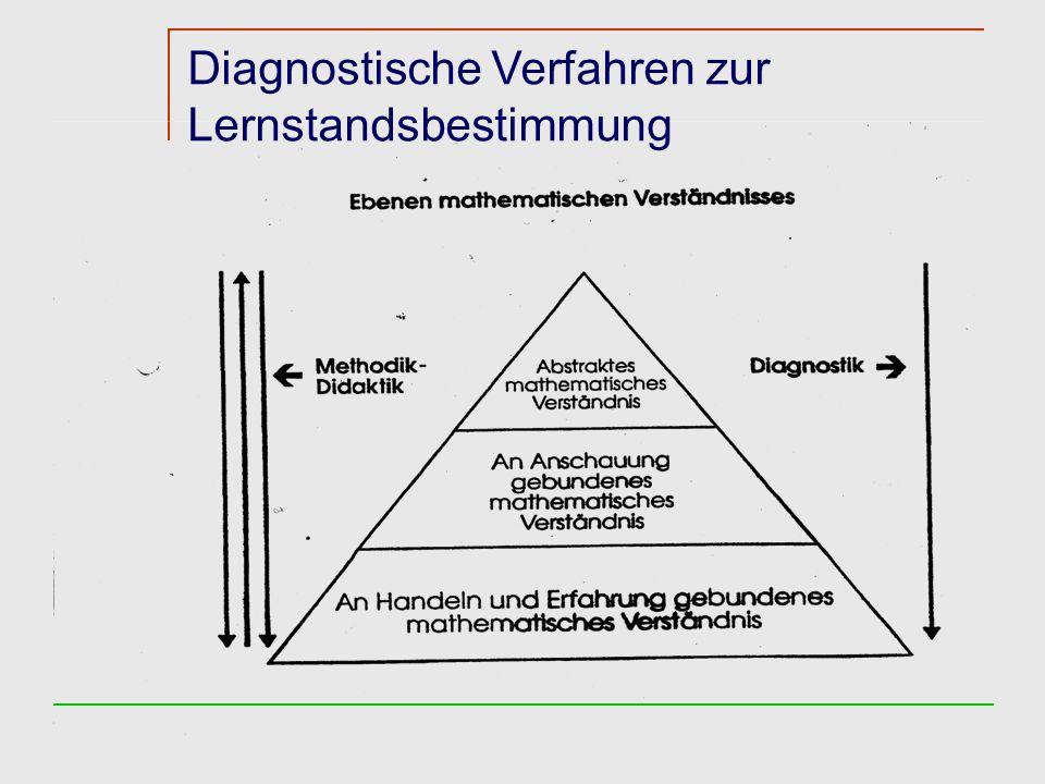 Diagnostische Verfahren zur Lernstandsbestimmung