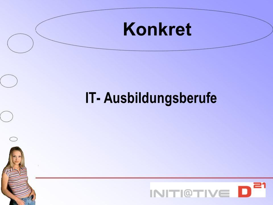 IT- Ausbildungsberufe Konkret