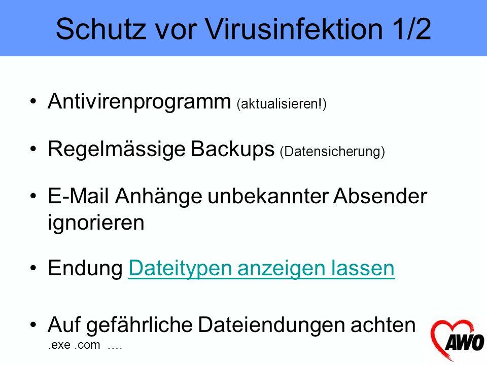 E-Mail (Anhänge, Skripte) Netzwerk Software (Illegale Software, …) Office-Dokumente (Makros) Internet (Crack-Seiten, Ü18-Seiten) –(Kopierschutz (entfe
