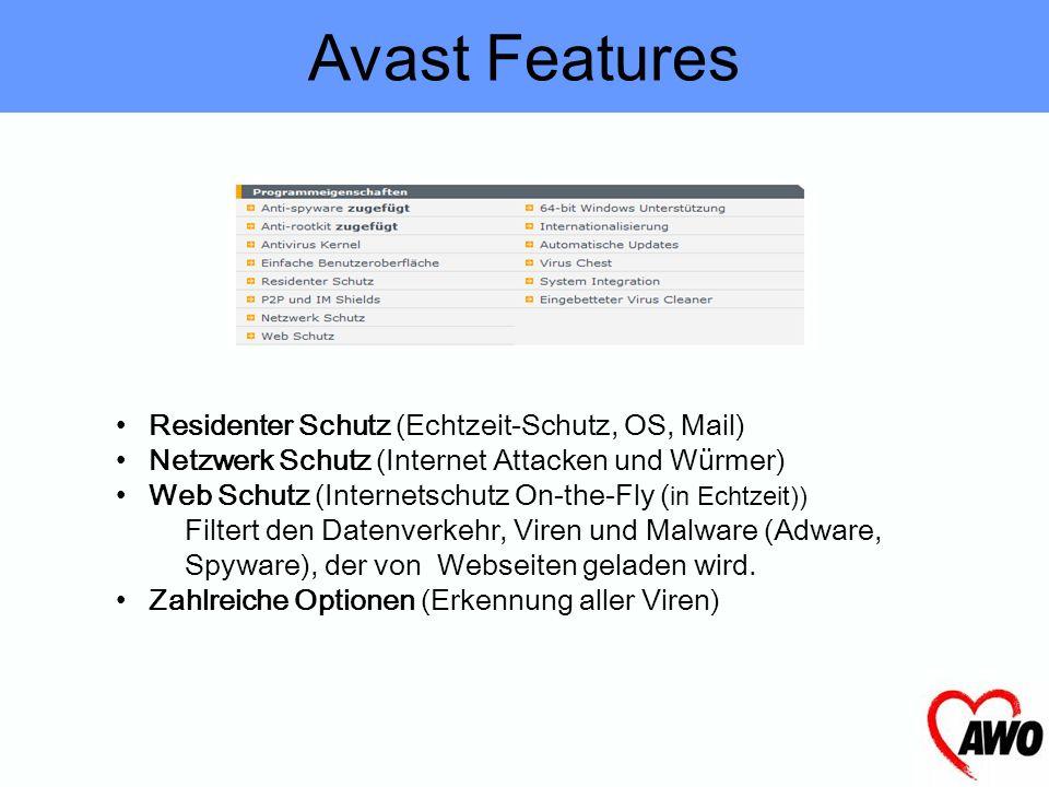 Avast avast ist ein kostenloser Virenscanner für daheim. Die