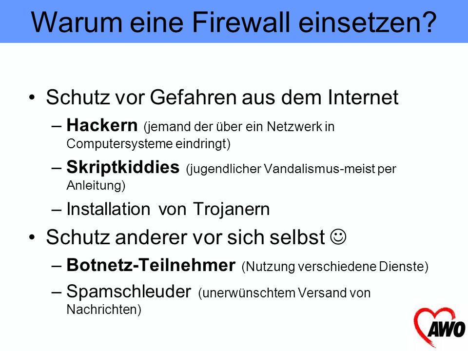 Warum eine Firewall einsetzen? Ich habe eh keine Daten am PC, die für an Hacker interessant sind Firewall
