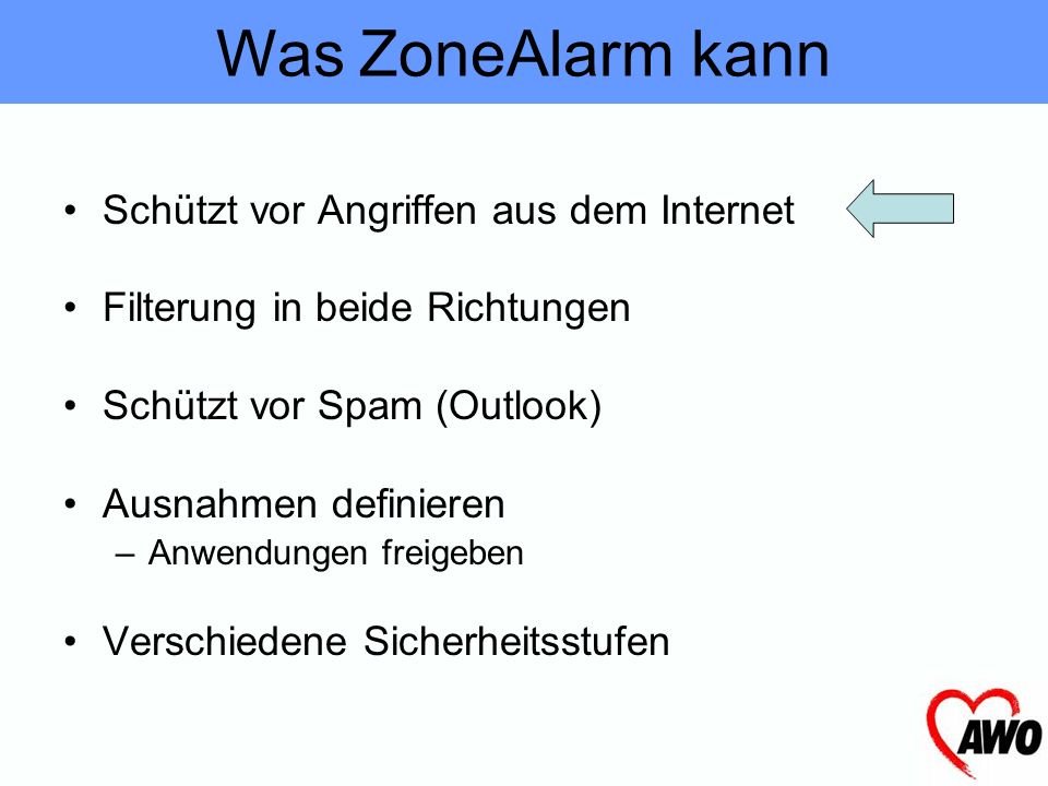 Firewall ZoneAlarm
