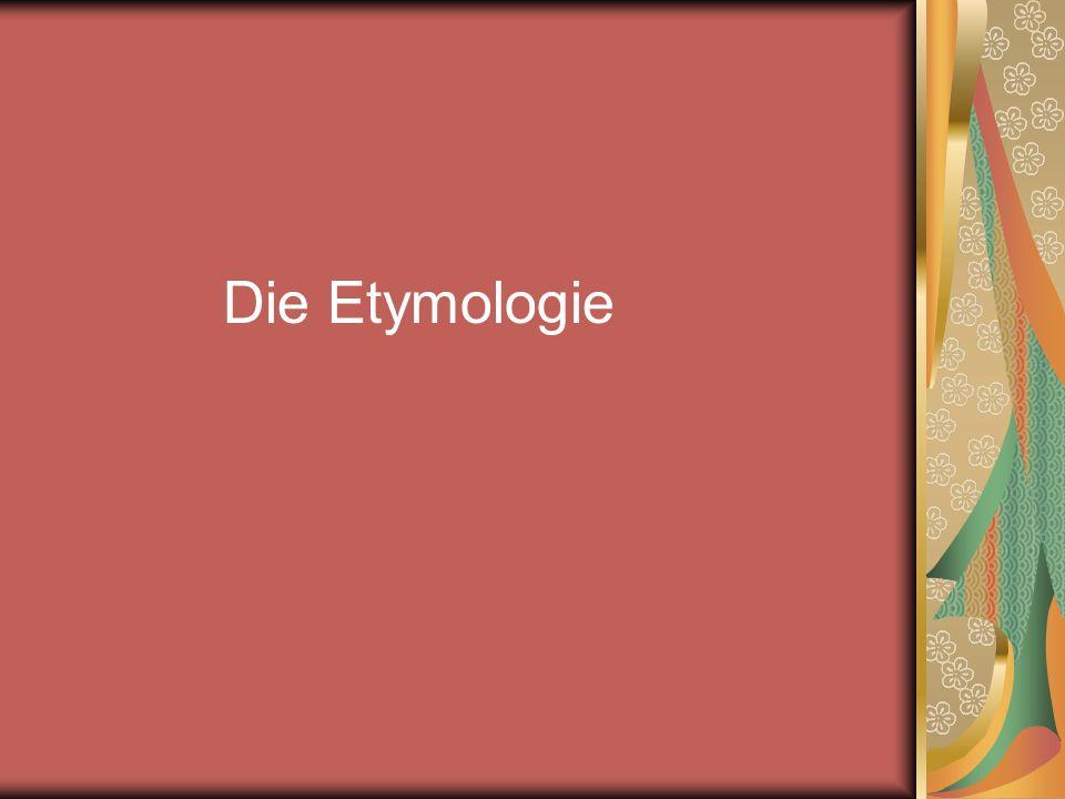 Etymologie altgrch.