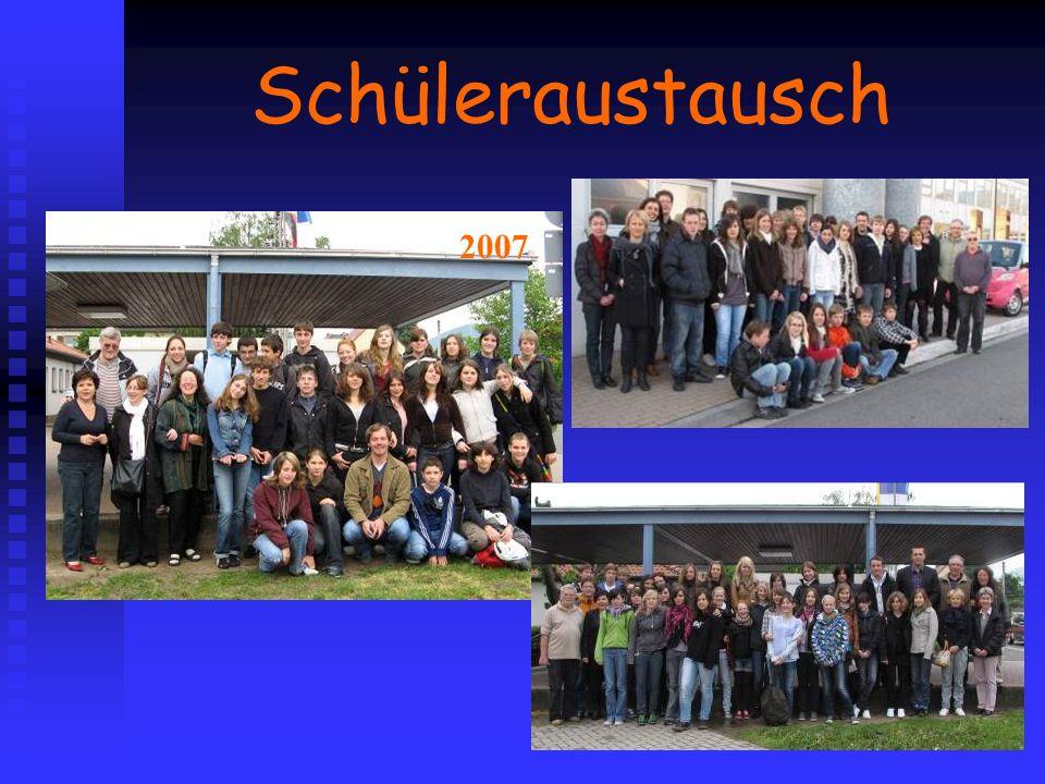 Schüleraustausch 2007