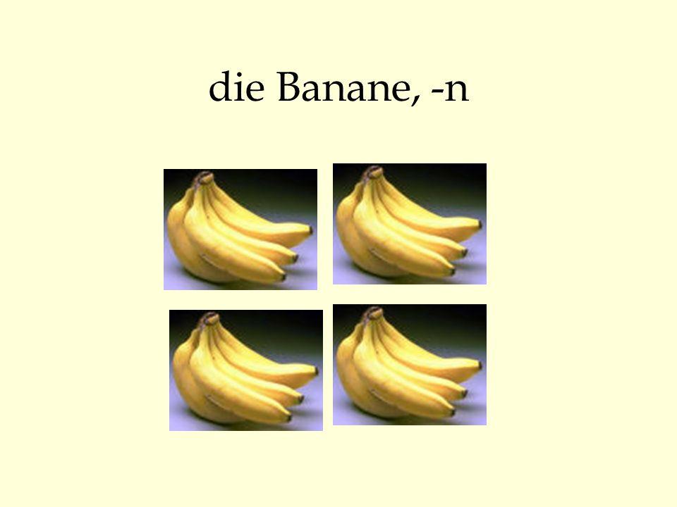 die Banane, -n