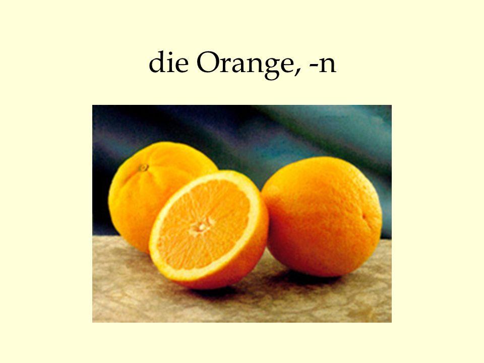 die Orange, -n