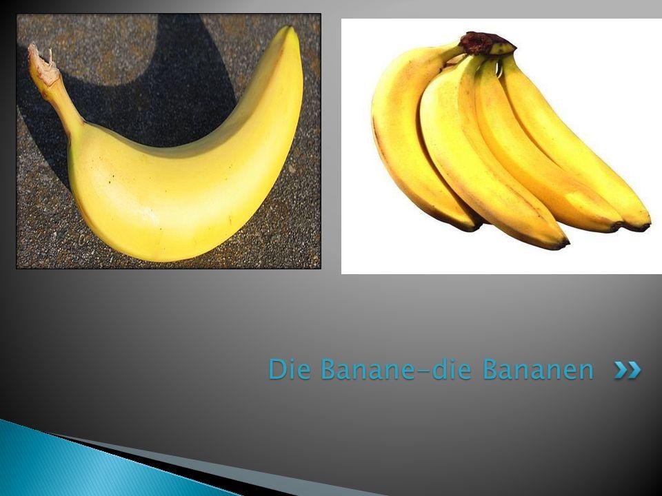 Die Banane-die Bananen