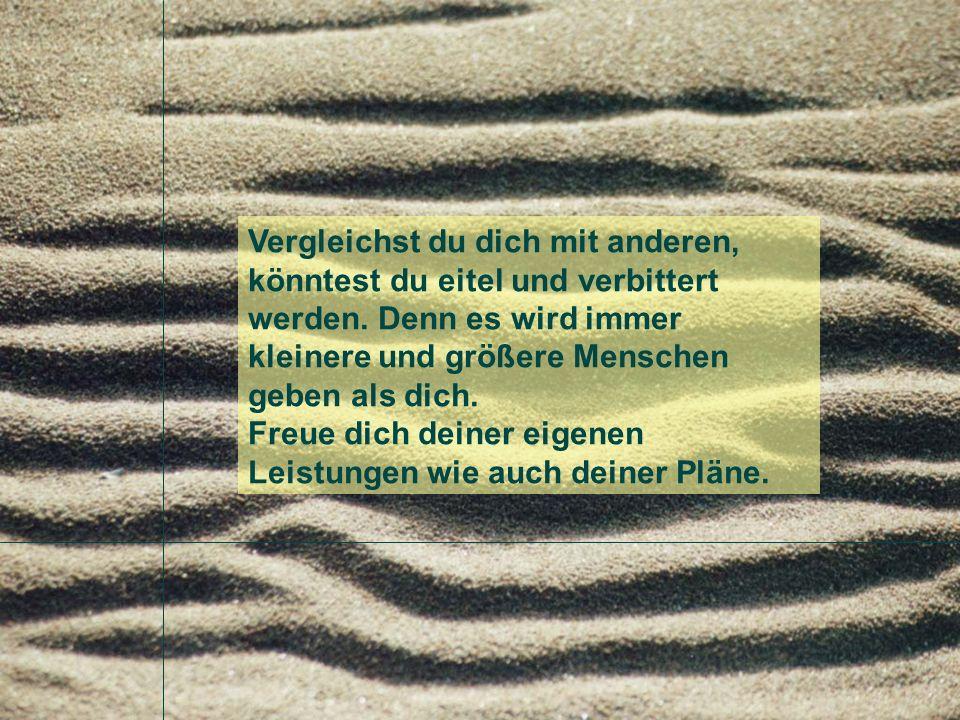 Desiderata Musik: Buddha Bar, Tango serenata de Schubert Text aus der alten St.