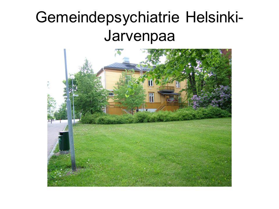 Gemeindepsychiatrie Helsinki- Jarvenpaa