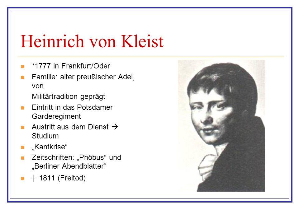 Interpretation Das damalige Preußen Korruption und Machtmissbrauch der Behörden Kritik an der Patrimonialgerichtsbarkeit Gibt es eine absolute Wahrheit.