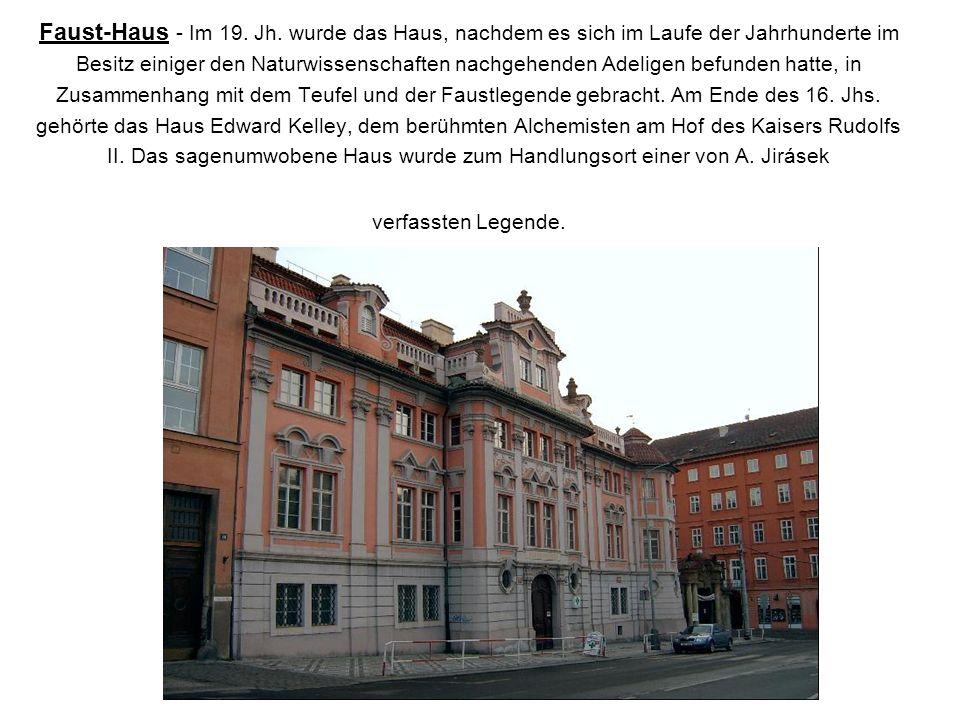 Faust-Haus - Im 19.Jh.