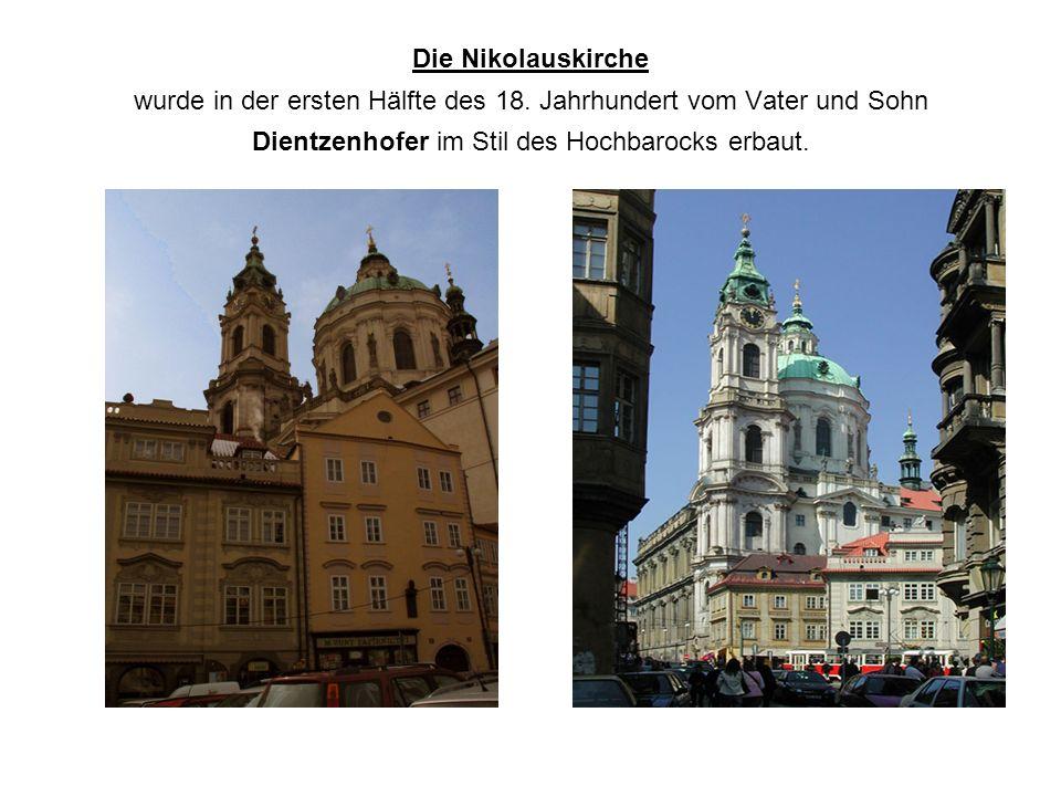 Die Nikolauskirche wurde in der ersten Hälfte des 18.