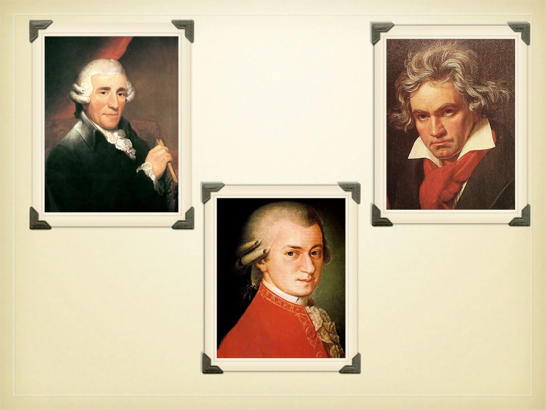 Joseph Haydn *1732 +1809 Joseph Haydn *1732 +1809 -war ein österreichischer Komponist -man hat ihn als Vater der Sinfonie genannt (er beeinflusste die Entstehung der Sinfonieschöpfung) -war der erste Vertreter der Wiener Klassik -hat Motive aus der Volksmusik genommen -w-war ein österreichischer Komponist -m-man hat ihn als Vater der Sinfonie genannt (er beeinflusste die Entstehung der Sinfonieschöpfung) -w-war der erste Vertreter der Wiener Klassik -h-hat Motive aus der Volksmusik genommen Das Werk: die Sinfonie-,,Die Uhr Das Werk: die Sinfonie-,,Die Uhr