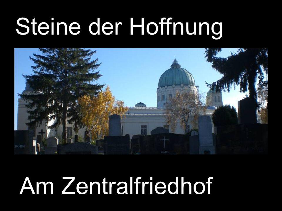Steine der Hoffnung Am Zentralfriedhof