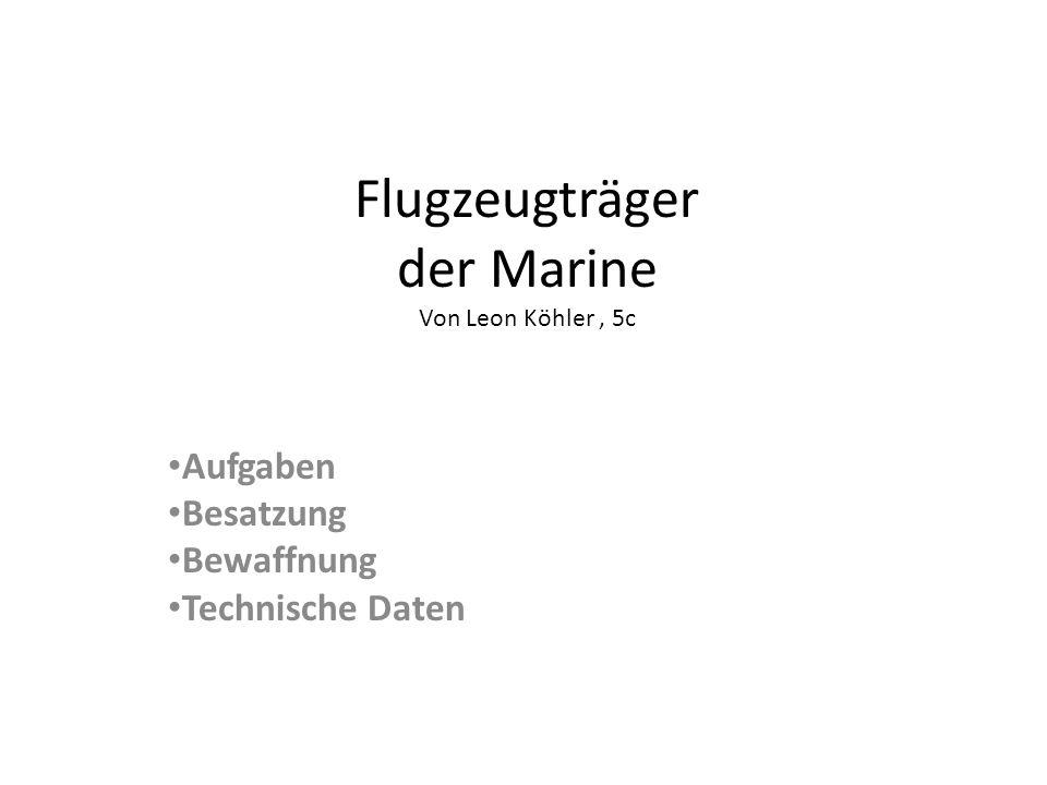 Flugzeugträger der deutschen Marine