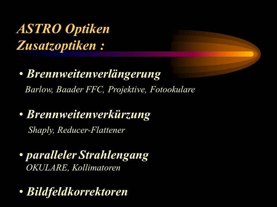 ASTRO Optiken Reflektor Bauformen Sonder - Spiegelsysteme: Herschel (Horizontalteleskop)