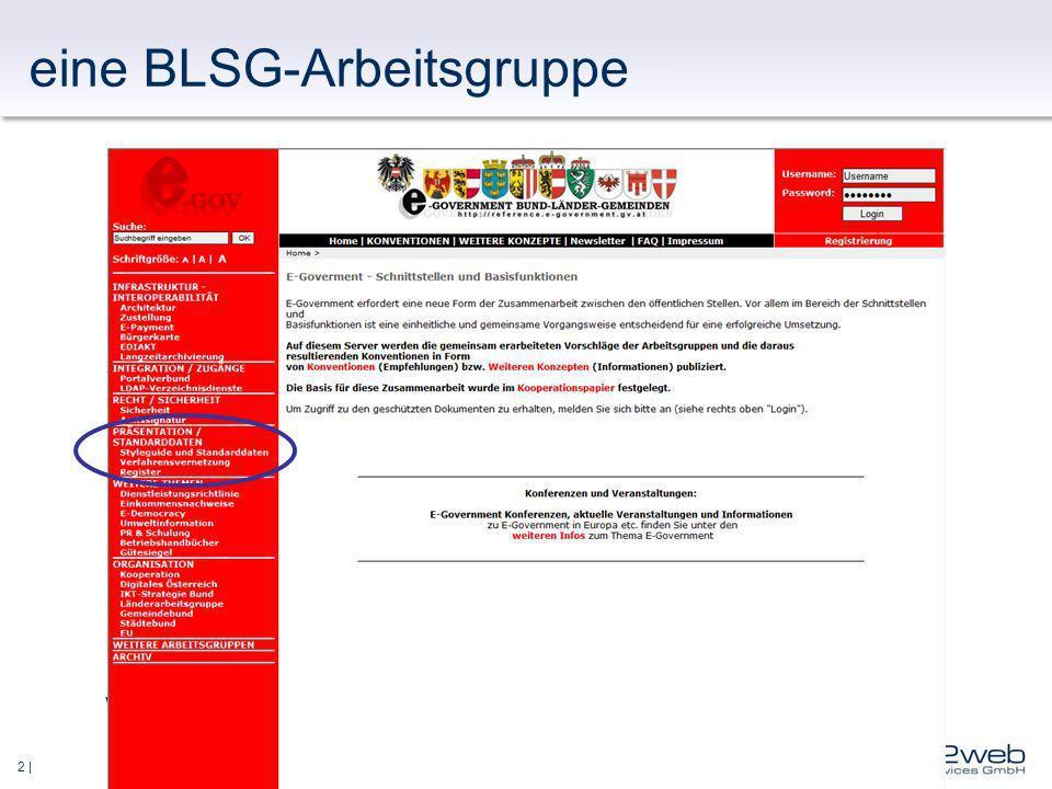 2 | eine BLSG-Arbeitsgruppe www.ref.gv.at