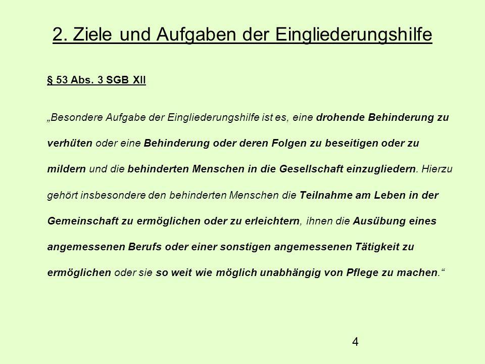 5 3.Leistungen der Eingliederungshilfe § 54 Abs.