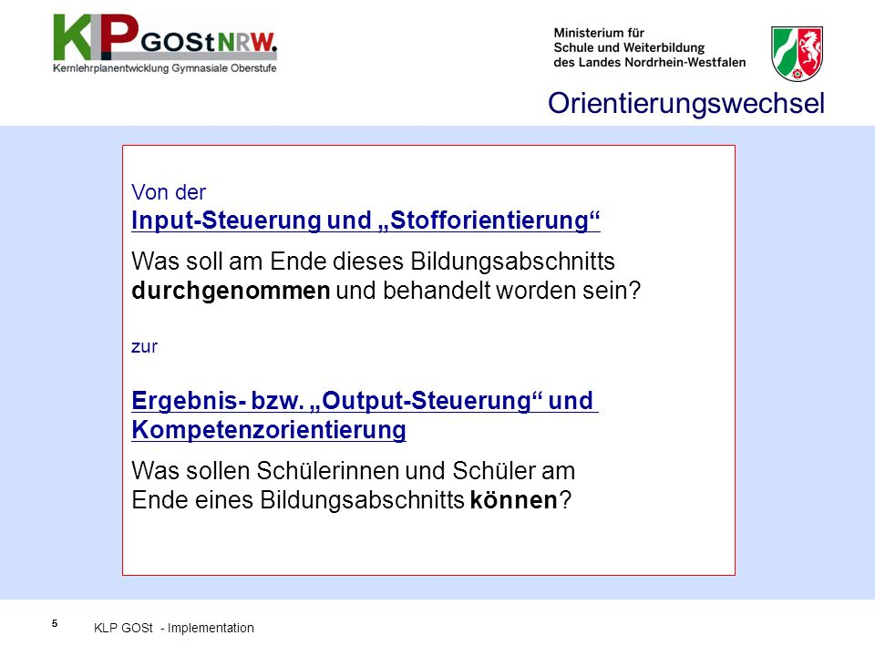 Beispiele für Kompetenzerwartungen: Sprachkompetenz (Gk, fortgef.