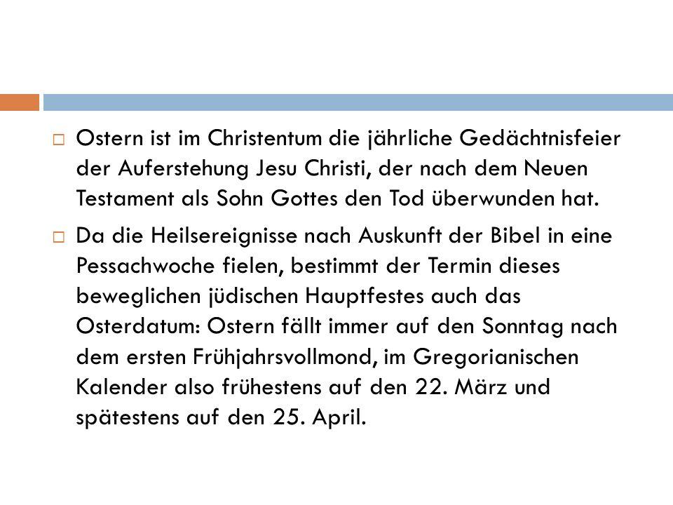 Verhältnis zum Pessach Jesu Kreuzigung fand nach den Synoptikern am Hauptfesttag des Pessach, dem 15.