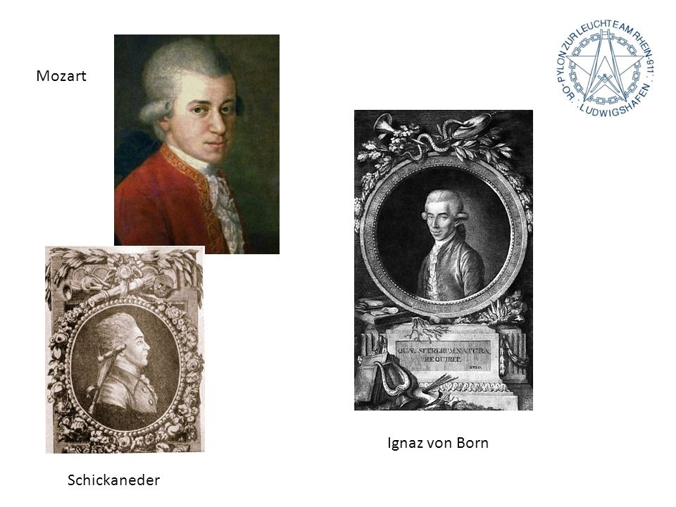 Mozart Schickaneder Ignaz von Born