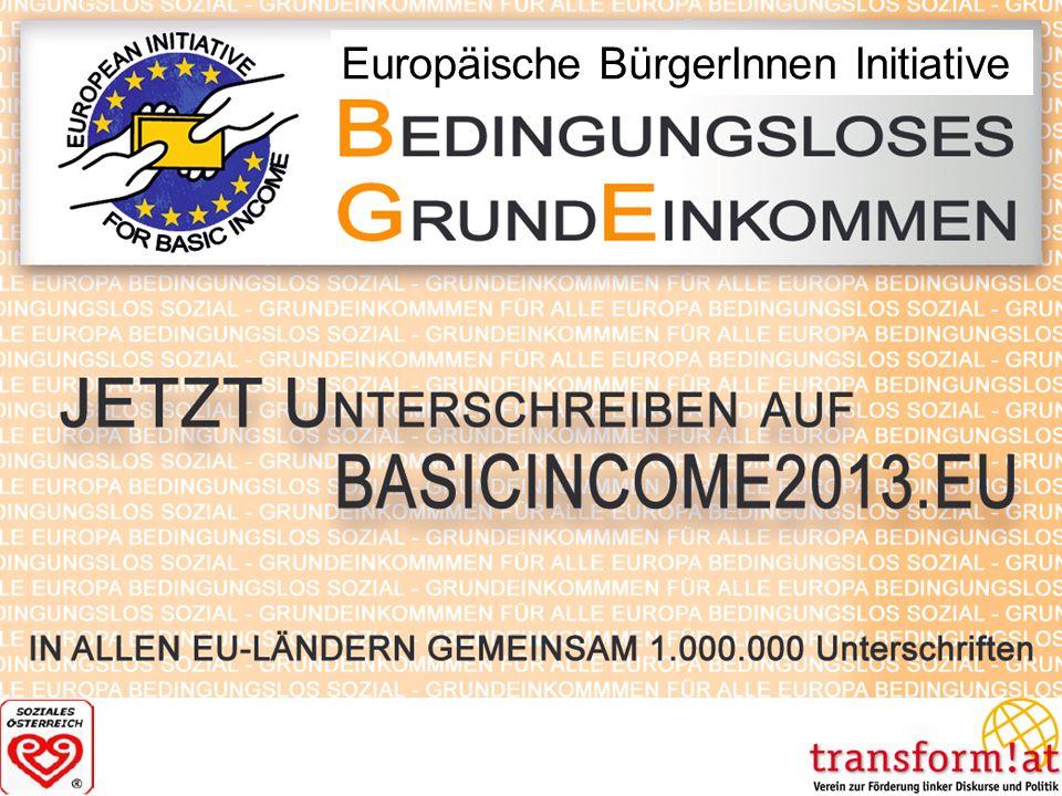 Europäische BürgerInnen Initiative