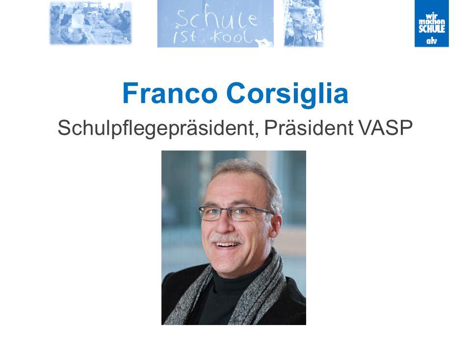 Franco Corsiglia Schulpflegepräsident, Präsident VASP