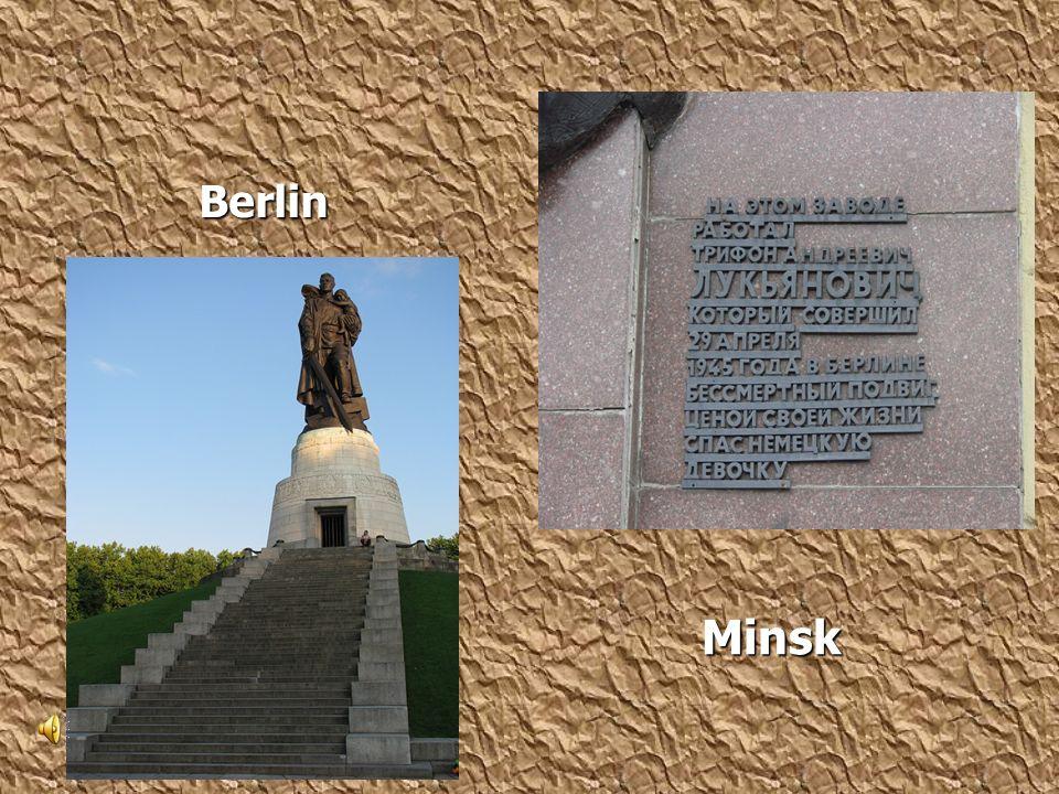 Berlin Berlin Minsk Minsk
