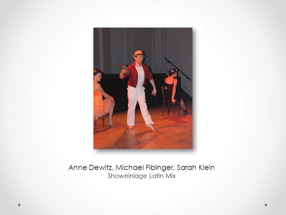 Katharina Ziehr & Michael Fibinger Showeinlage Jive & Rumba (zu Musik von James Bond)