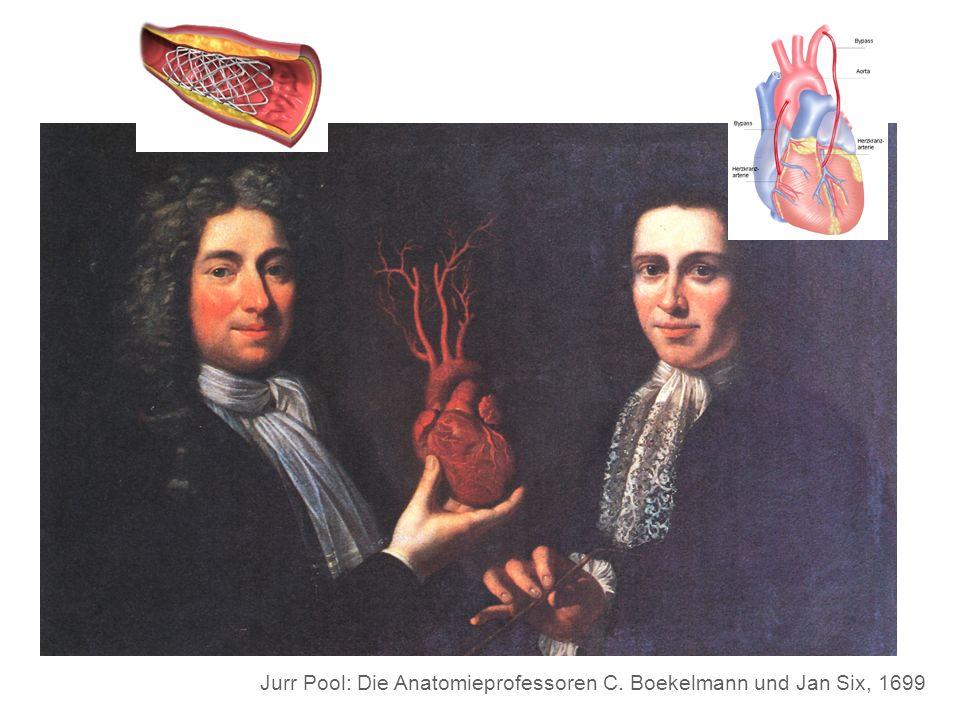 Jurr Pool: Die Anatomieprofessoren C. Boekelmann und Jan Six, 1699