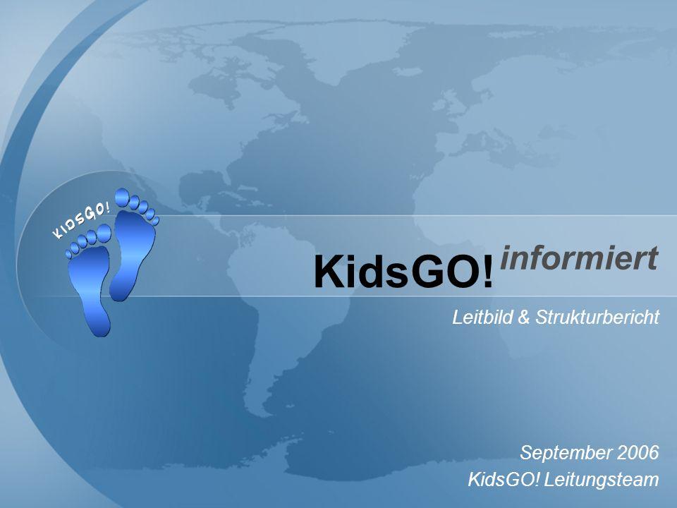 KidsGO! Leitbild & Strukturbericht September 2006 KidsGO! Leitungsteam informiert